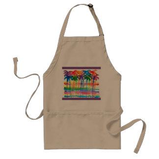 Avental do design da palmeira