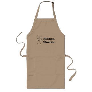 Avental do guerreiro da cozinha para o cozinheiro