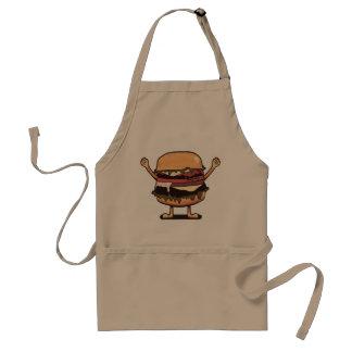 Avental do hamburguer