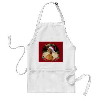 Avental do Natal da alpaca
