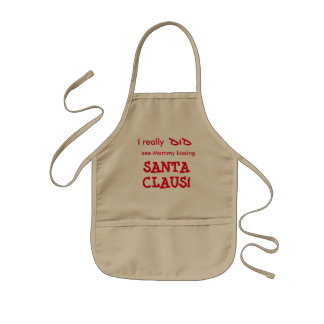 avental do Natal das crianças