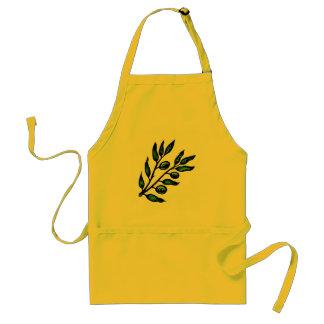 avental do ramo de oliveira