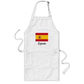 Avental espanhol do cozinhar da cozinha da