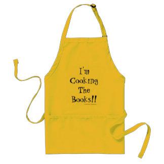 Avental Eu estou cozinhando os livros! Ideia do presente