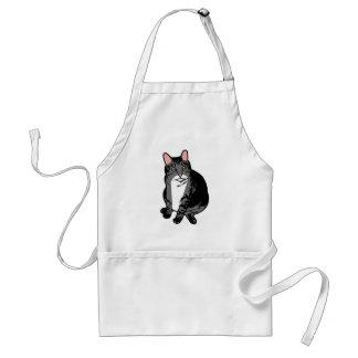 Avental Gato do sapo