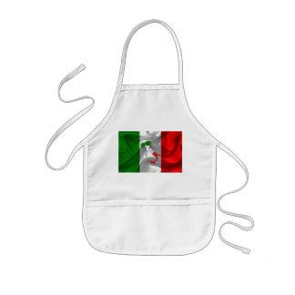 Avental Infantil Bota italiana
