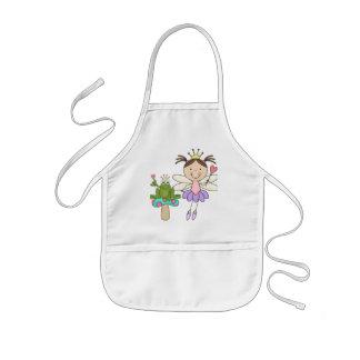 Avental Infantil Camiseta mágico e presentes do pântano justo do