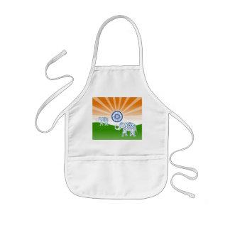 Avental Infantil Elefante indiano