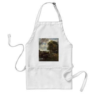 Avental John Constable - o fechamento - paisagem do campo