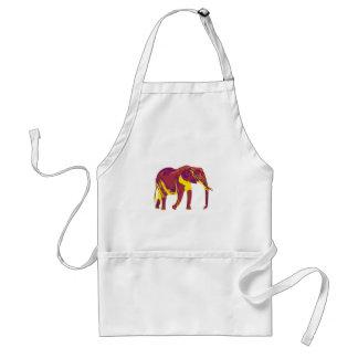 Avental Movimentos do elefante