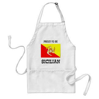 Avental Orgulhoso ser siciliano