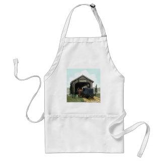 Avental Ponte coberta de Amish