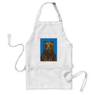 Avental Urso de urso
