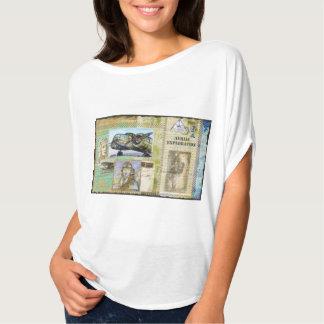 """""""Aviação 2"""" camiseta do Flowy das mulheres"""