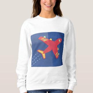 Aviões bravos do avião da camisola básica das camiseta