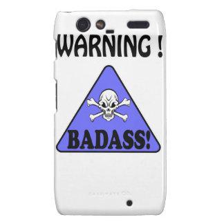 Aviso! Badass Droid RAZR Capas