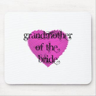 Avó da noiva mouse pad