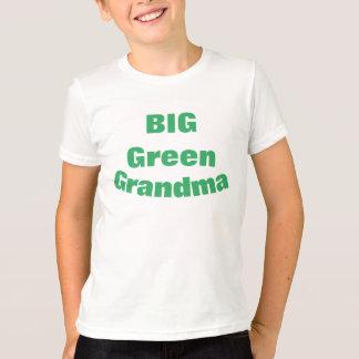 Avó verde grande t-shirt