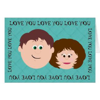 Avós Cartão Comemorativo