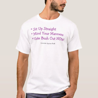 Avós contra Bush II T-shirt