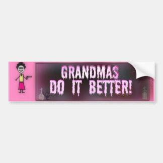 Avós melhora adesivo para carro
