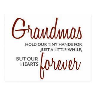 Avós para sempre cartão postal