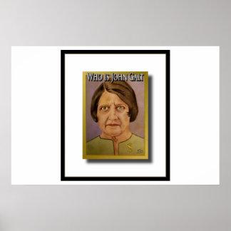 Ayn Rand (quem é John Galt) Poster