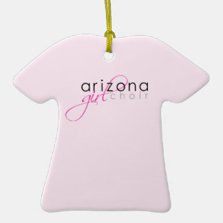AZ GirlChoir Ornamento De Cerâmica Camiseta