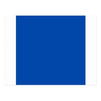 Azuis cobaltos cartão postal
