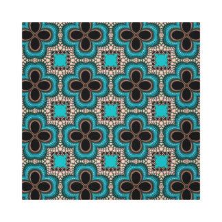 azuis de padrão de trevos