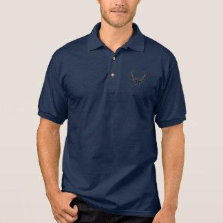 Azuis marinhos camisa polo