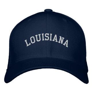 Azuis marinhos do boné de lãs de Louisiana Flexfii