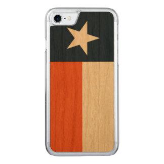 Azuis marinhos e laranja capa iPhone 7 carved