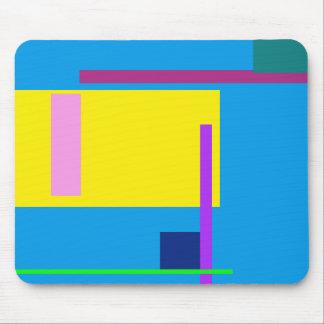 Azul artístico de Dodger do espaço Mouse Pad