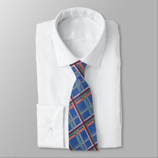 Azul brilhante pago gravata