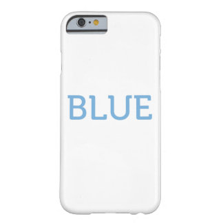 Azul Capa Barely There Para iPhone 6