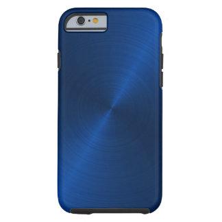 Azul Capa Tough Para iPhone 6