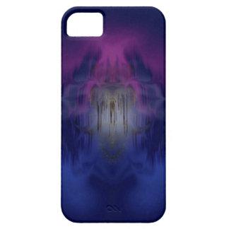 azul cósmico capa para iPhone 5