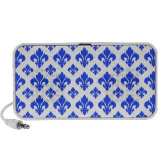 Azul da flor de lis 2 caixinha de som para notebook