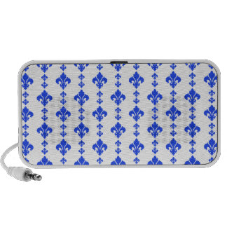Azul da flor de lis 3 caixinha de som para notebook