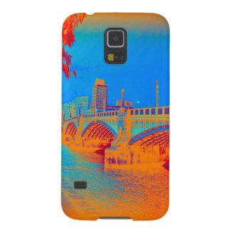 Azul da ponte de Londres Capas Par Galaxy S5
