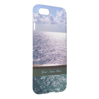 Azul de oceano personalizado capa iPhone 7