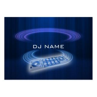 azul do DJ Cartão De Visita Grande