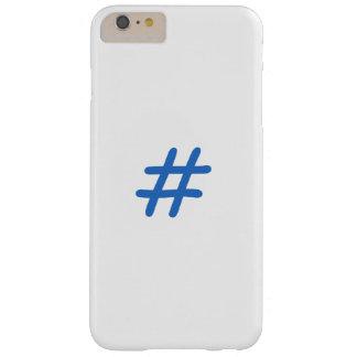 azul do hashtag das capas de iphone