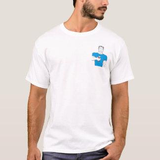 Azul do tombadilho de Tuffnite Tshirts