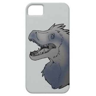 Azul do Velociraptor Capa Barely There Para iPhone 5