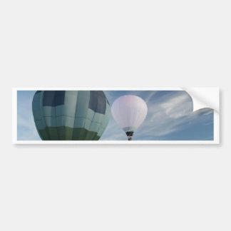 Azul e branco dos balões XLTA! Adesivo Para Carro