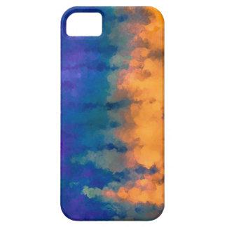 Azul e ouro iPhone 5 capa