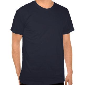 Azul engraçado do despedida de solteiro dos homens camisetas