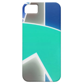 Azul Funky Capas iPhone 5
